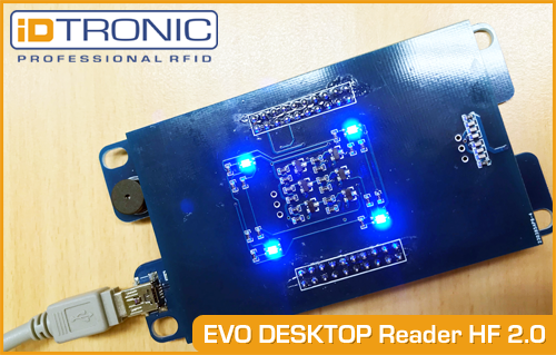 iDTRONIC's EVO Desktop Reader HF 2 0: One Device perfectly