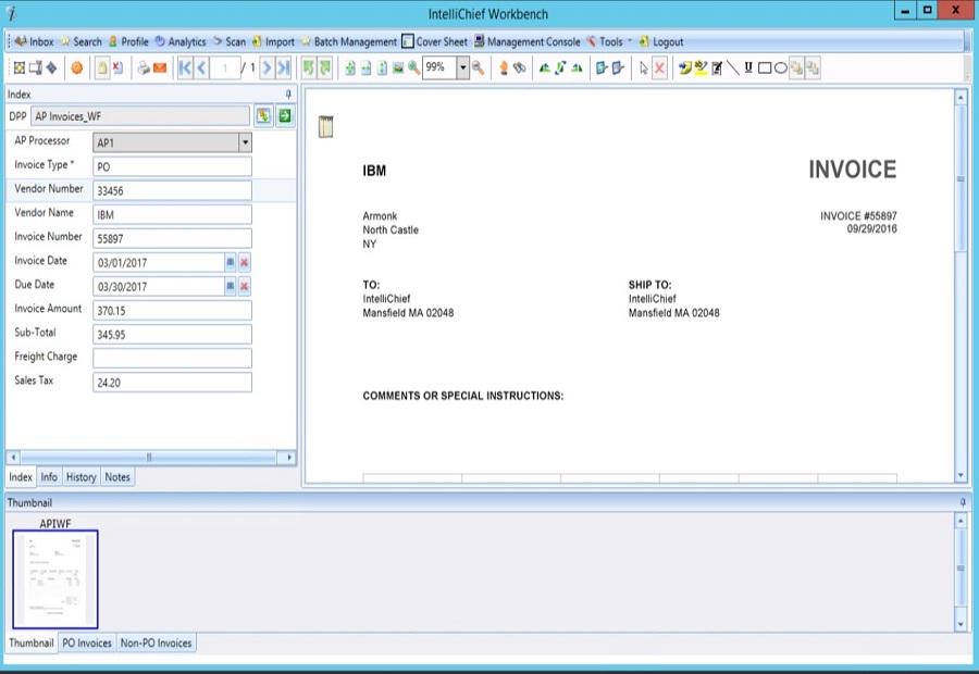 IntelliChief ECM 4.2 Featuring Fast Multi-Thread Workflow Automation