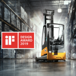 ETV 216i reach truck wins prestigious Design Award