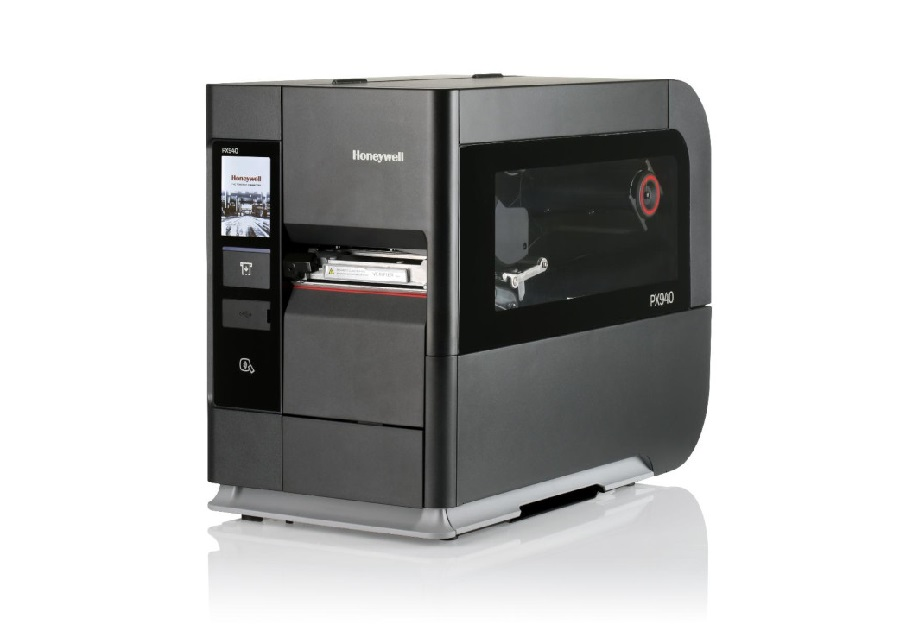 Honeywell heavy-duty industrial printer features internal label verification system