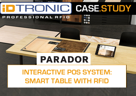 Interactive POS System: Smart Table with RFID Function