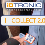 iDTRONIC's RFID HANDHELD I-COLLECT 2.0 – Mobile Data collector in unique Pocket Format
