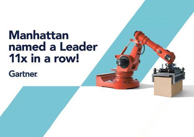 Manhattan Associates Named a Leader in Gartner's Magic Quadrant for Warehouse Management Systems for Eleventh Consecutive Time