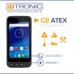 iDTRONIC's HANDHELD COMPUTER C2 ATEX – Robust ATEX Certified RFID Handheld for explosion-proof Areas