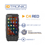 iDTRONIC's RFID HANDHELD C4 RED – Unique on the market: Certified for SOTI MobiControl Communications
