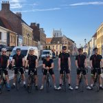PARAGON CYCLYING TEAM RAISES MORE THAN £3000 FOR CHILDREN'S HOSPICE CHARITY