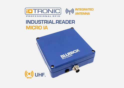 iDTRONIC's BLUEBOX Micro IA – The powerful RFID Solution for Forklift Vehicles