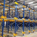 Britvic increases warehouse pallet storage density with Jungheinrich racking and shuttle solution