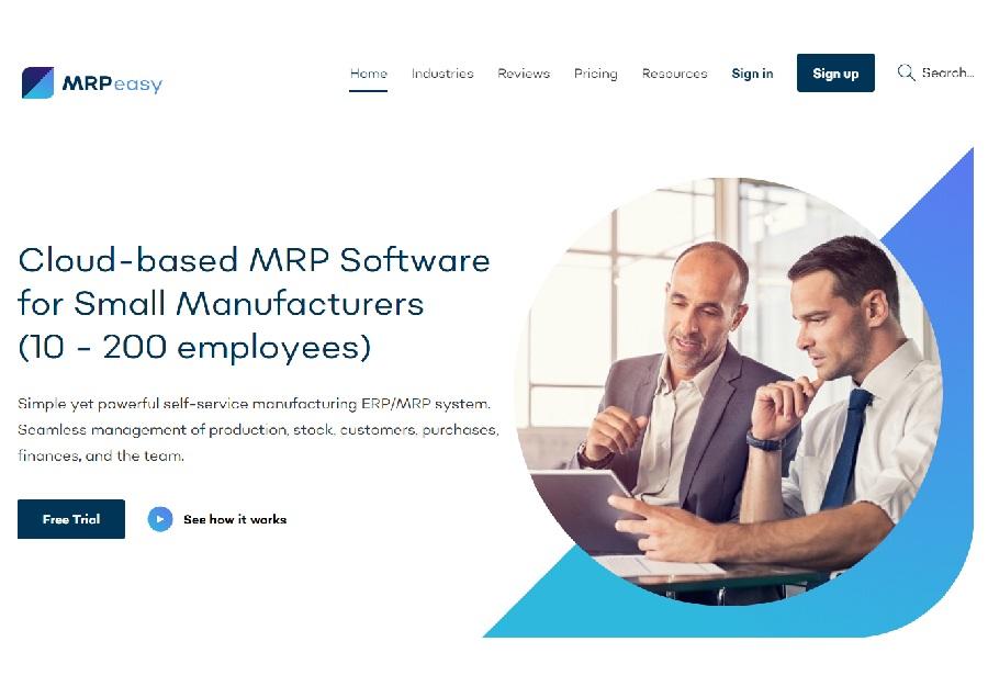 MRPeasy now has 100 UK customers