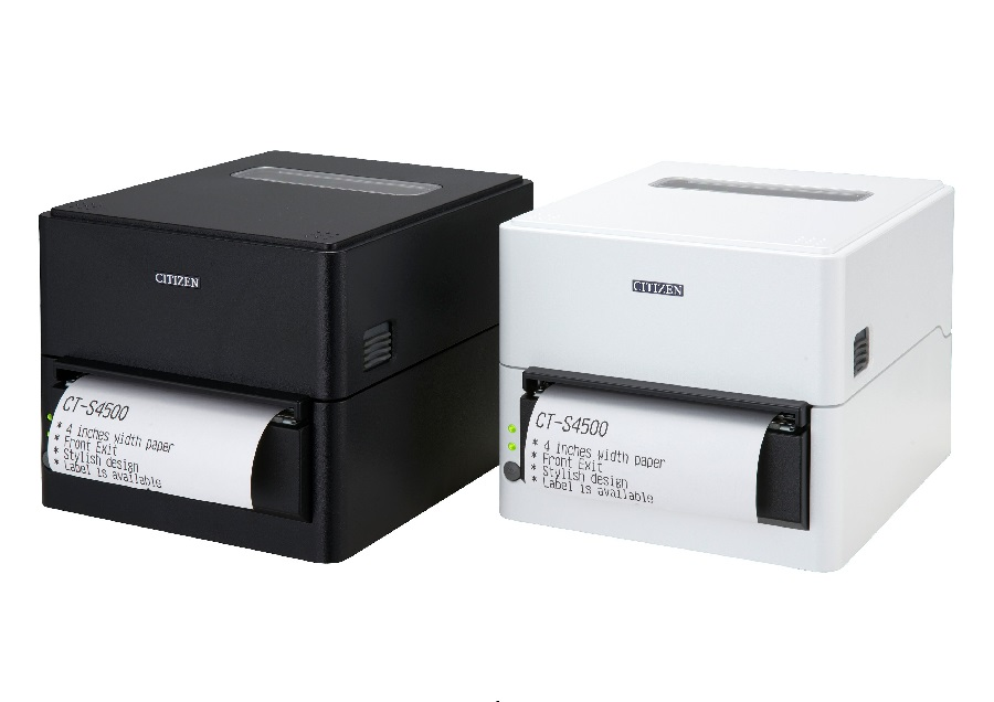 The Citizen CT-S4500:  Cost-Effective 4-Inch POS Printing with Perfect Document Scaling
