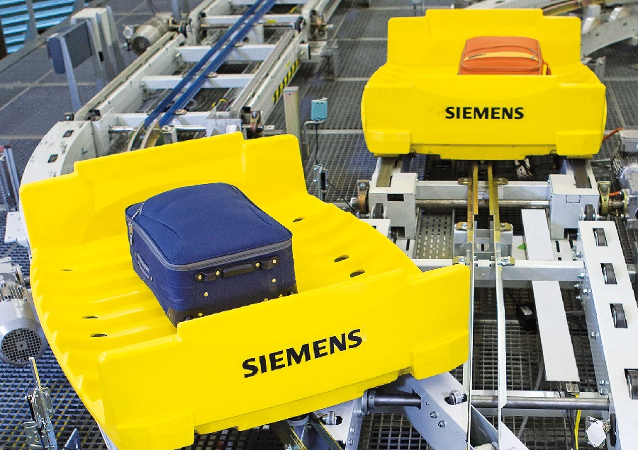 Siemens increases the efficiency and service life of baggage handling systems with Service 4.0