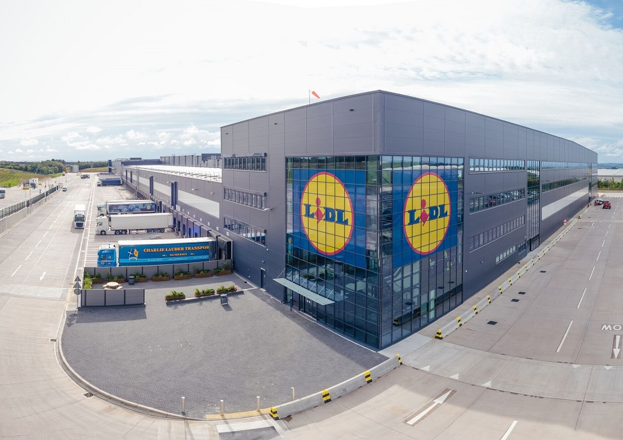 Lidl commences operations at new £70m Scottish distribution centre – with 250 new jobs planned