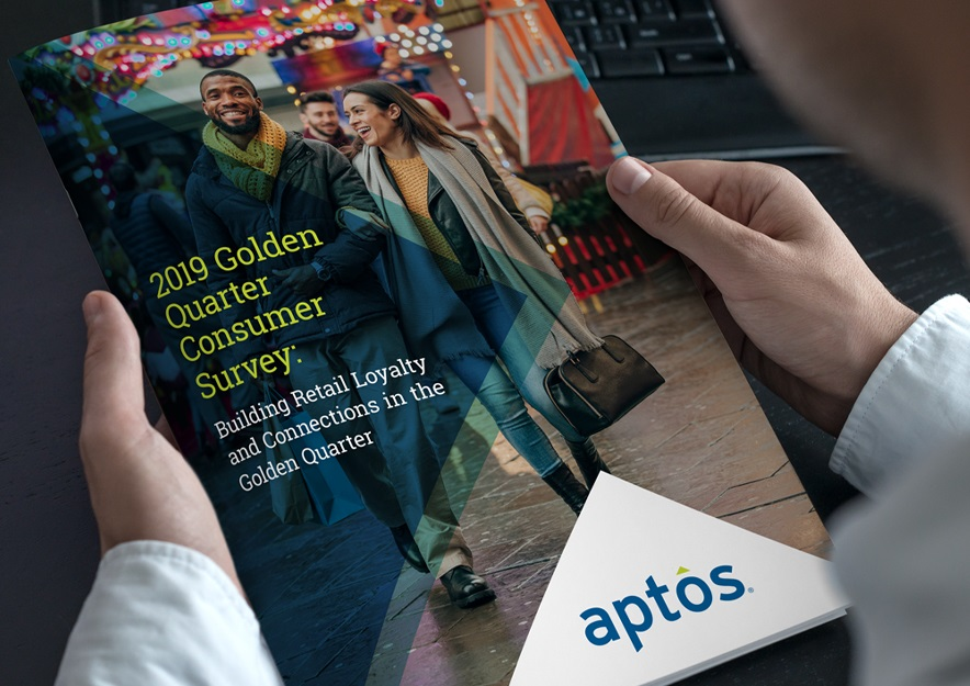 New Aptos Survey: Shoppers Indicate Increased Importance  of the Store in the Golden Quarter