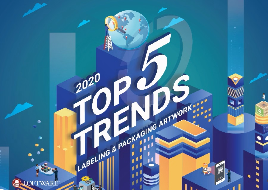 Live Webinar on Top 5 Trends in Labeling and Packaging Artwork