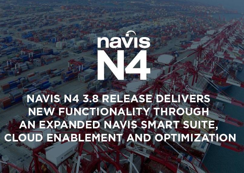 Navis Delivers Smart Platform for Cloud, Data and Optimization through N4 3.8