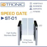 iDTRONIC ST-01: Speed Gate – Modern Design combined with the highest Security Standards