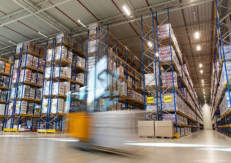 Berger Contract Logistics optimizes logistics services with IT solutions from inconso