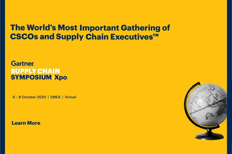 Gartner Supply Chain Symposium/Xpo (Virtual – Europe)