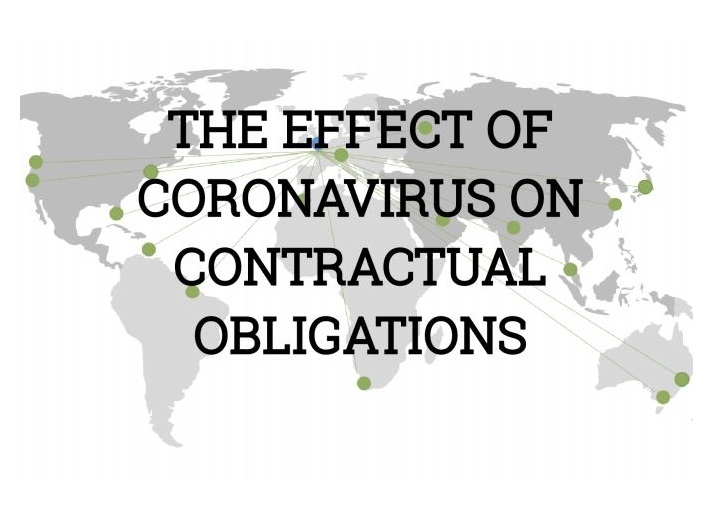 The effect of  Covid-19 on contractual obligations