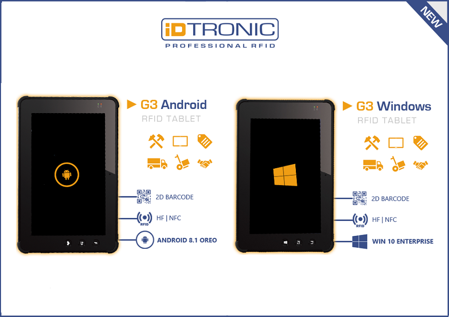 Introducing iDTRONIC's G3 Tablet Series