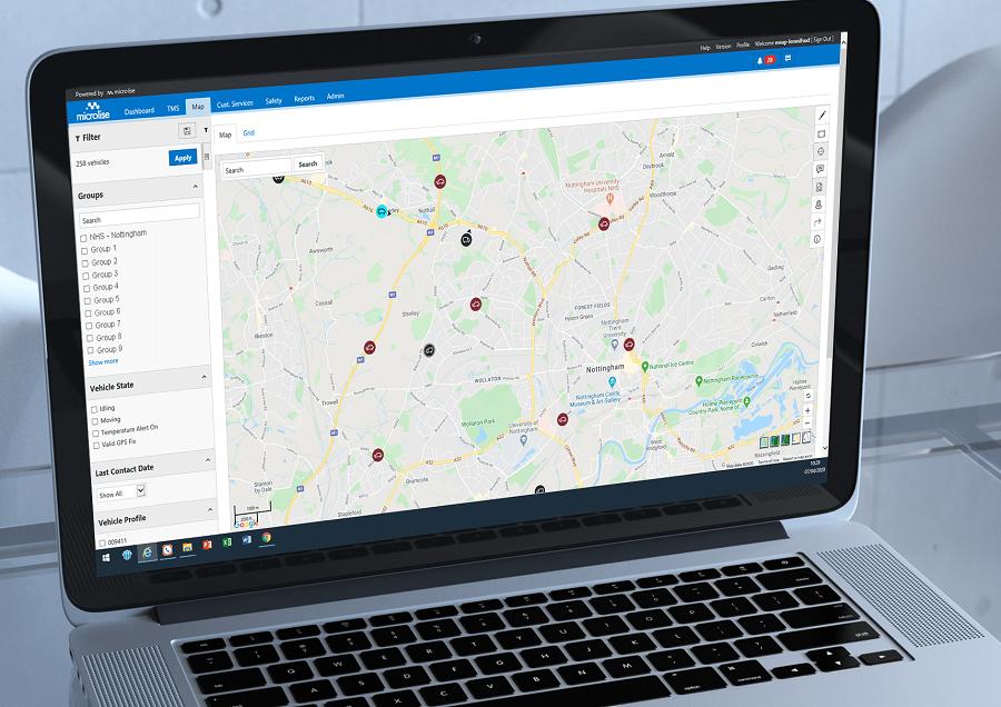 Microlise Provides Free Tracking, Optimisation & Communication Solutions