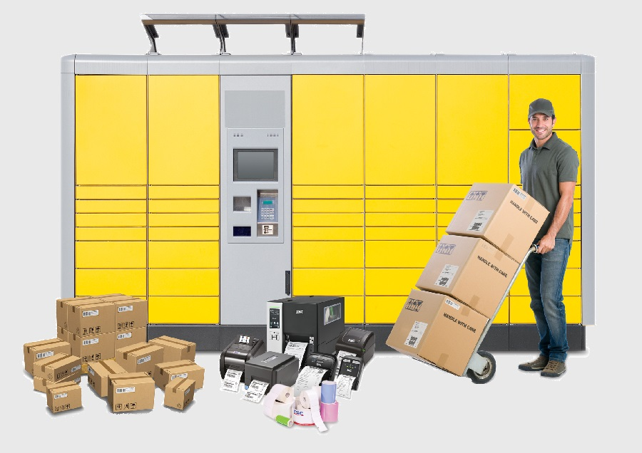 TSC's receipt printers make postal and parcel services' as well as transport companies' work easier