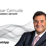 Cesar Cernuda Joins NetApp as President