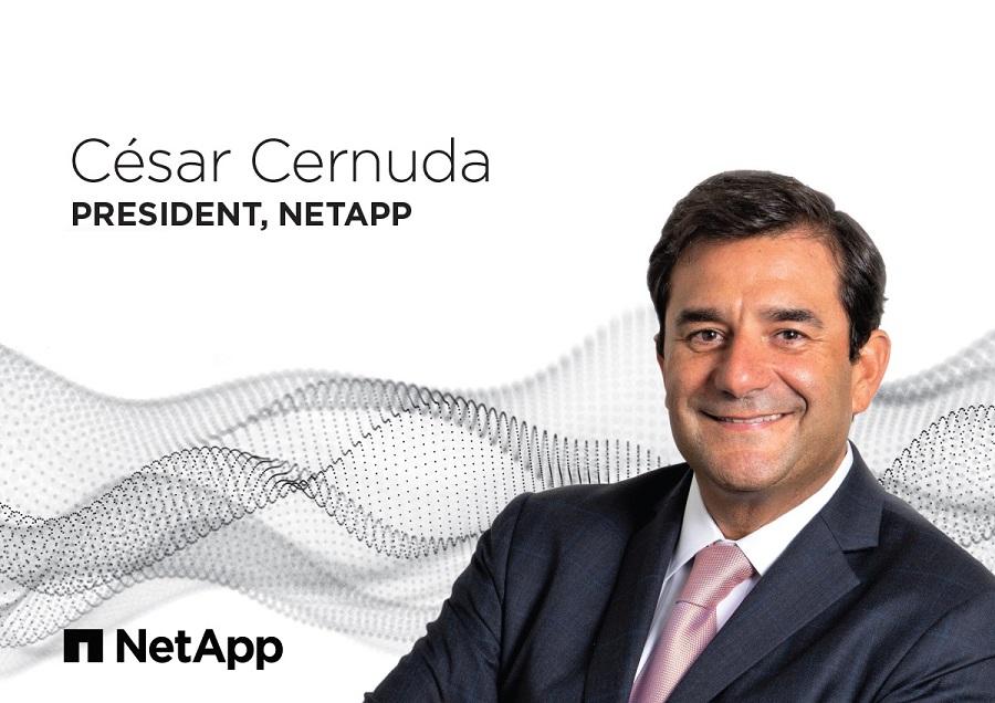 Cesar Cernuda Joins NetApp as President