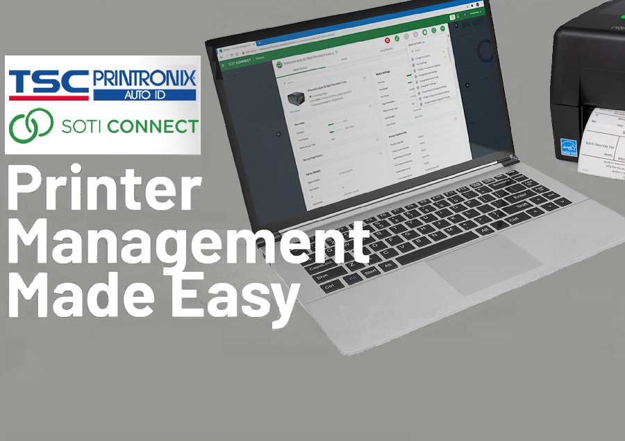 TSC Printronix Auto ID Announces a New Partnership with SOTI to Offer Remote Device Management Solutions to Customers