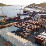 Tropical Shipping Implements Octopi by Navis at it's St. Thomas Location