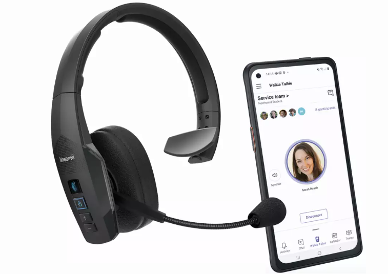 Blueparrott Introduces Wireless Headsets For Use With Microsoft Teams Walkie Talkie It Supply Chain