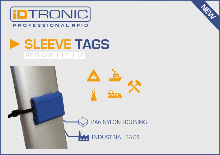 iDTRONIC's Industrial Tags: RFID Sleeve Tags for Asset Tracking & Operational Maintenance