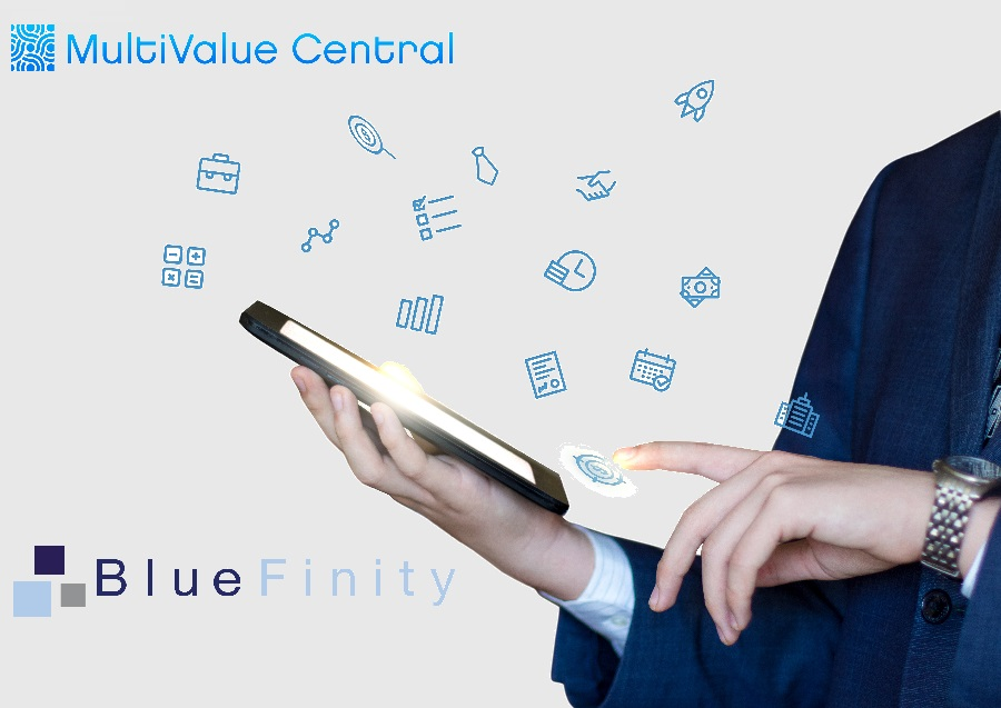 MultiValue Central has signed a strategic partnership with BlueFinity International
