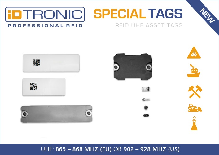 iDTRONIC's RFID On-Metal Asset Tags – Valid RFID On-Metal Asset Tracking in demanding Industry 4.0 Environments