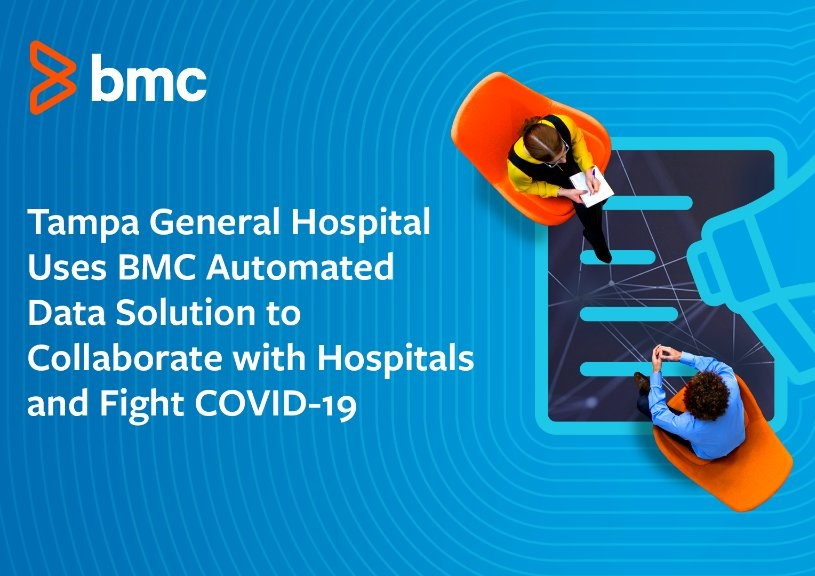 Tampa General Hospital Uses BMC Automated Data Solution to Collaborate with Hospitals & Fight COVID-19