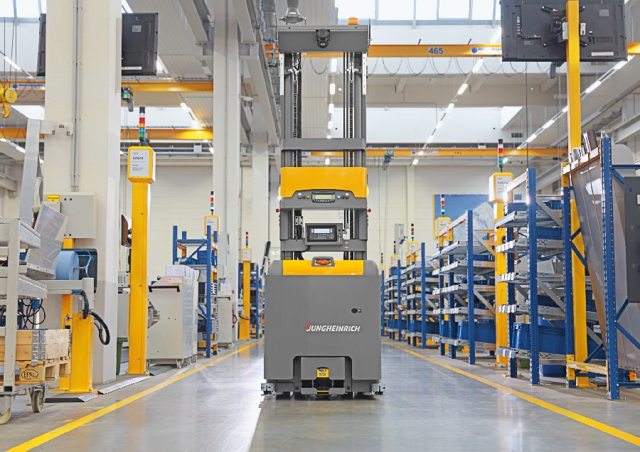 WEGMANN automotive relies on automation from Jungheinrich