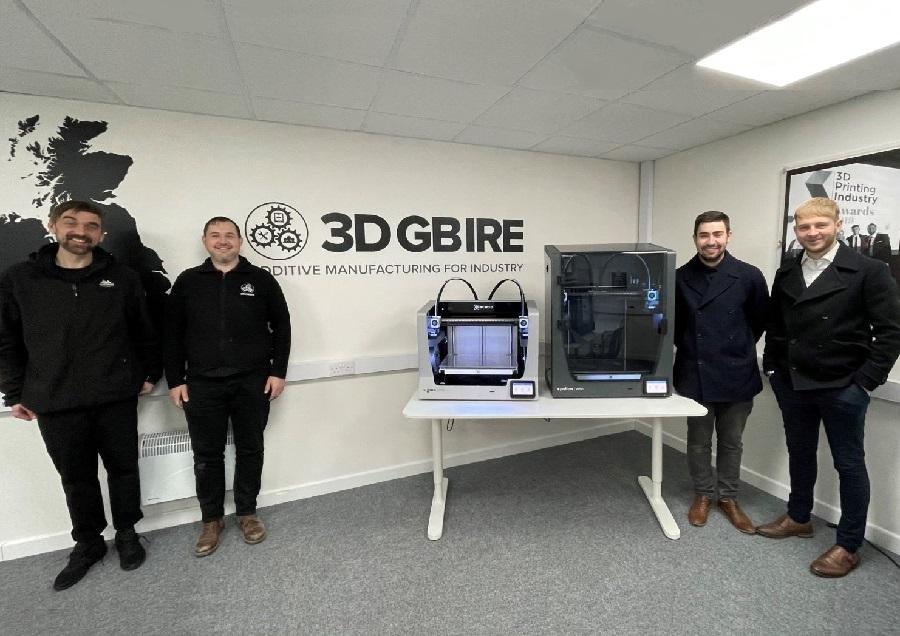 BCN3D announces new partnership with 3DGBIRE
