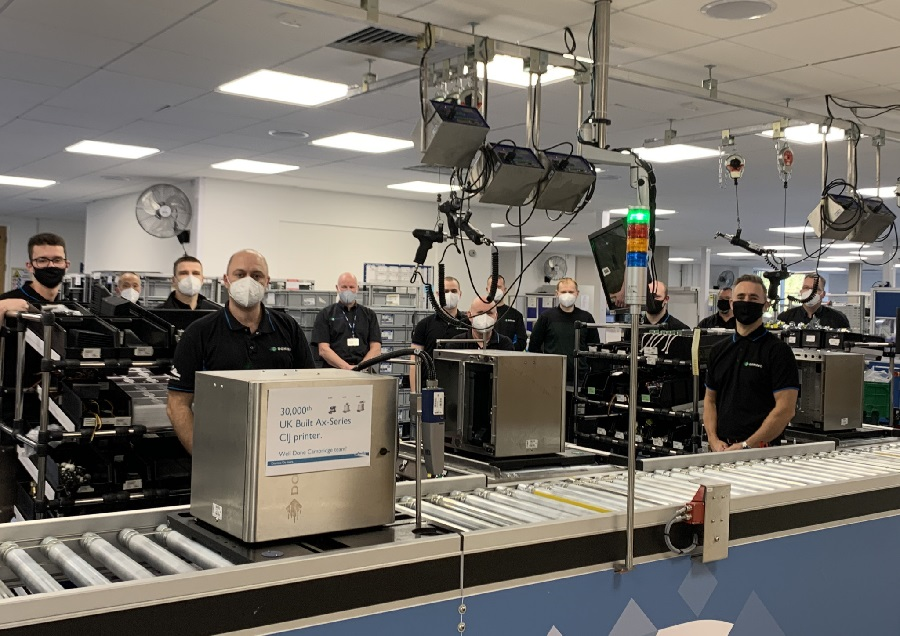 Domino Showcases UK Manufacturing Success with Major Production Milestone