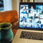 Lockdown Brits shun the work suit & tie and fail to hide messy rooms on virtual work meetings