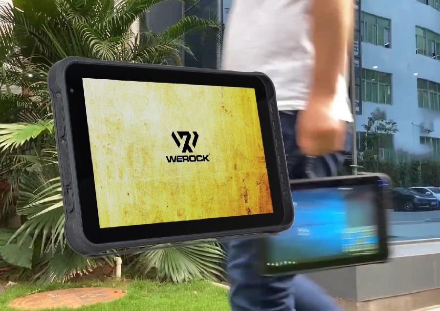 WEROCK presents robust industrial tablet Rocktab L110 with bright display