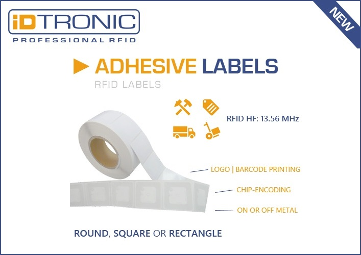 All-in-One RFID Label with Personalisation Options