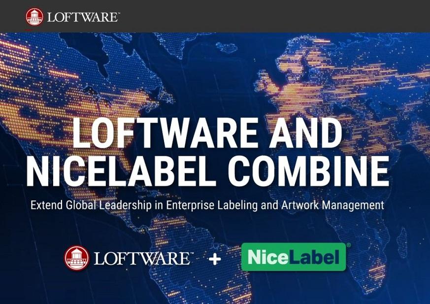 Loftware & NiceLabel Combine to Extend Global Leadership in Labelling