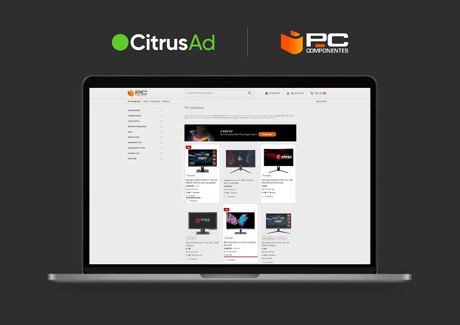 PcComponentes selects CitrusAd as new Retail Media platform