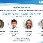 OCR International Announces New 2021 Webinar Wednesdays Series