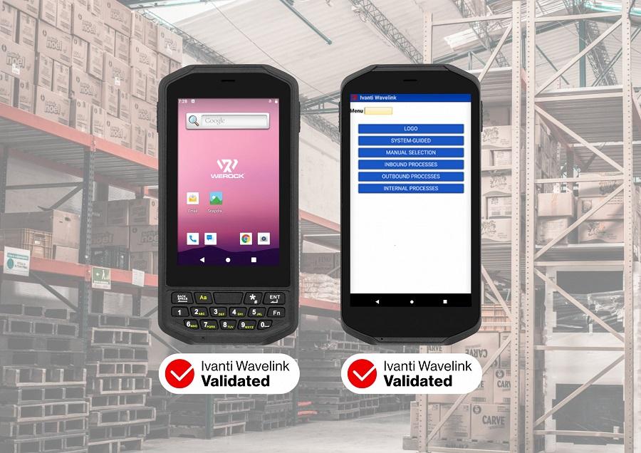 WEROCK receives Ivanti Wavelink Device Validation for Scoria A100 series