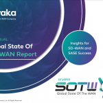 Aryaka's Fifth Annual Global State of the WAN Report Reveals Network Insights from 1,350 Global Enterprises