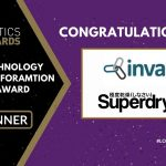 Superdry & Invar Systems with Hikrobot win Technology Transformation Award