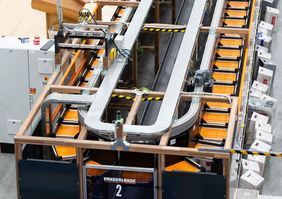 The Cotton On Group begins operations with second Vanderlande TRAYSORTER