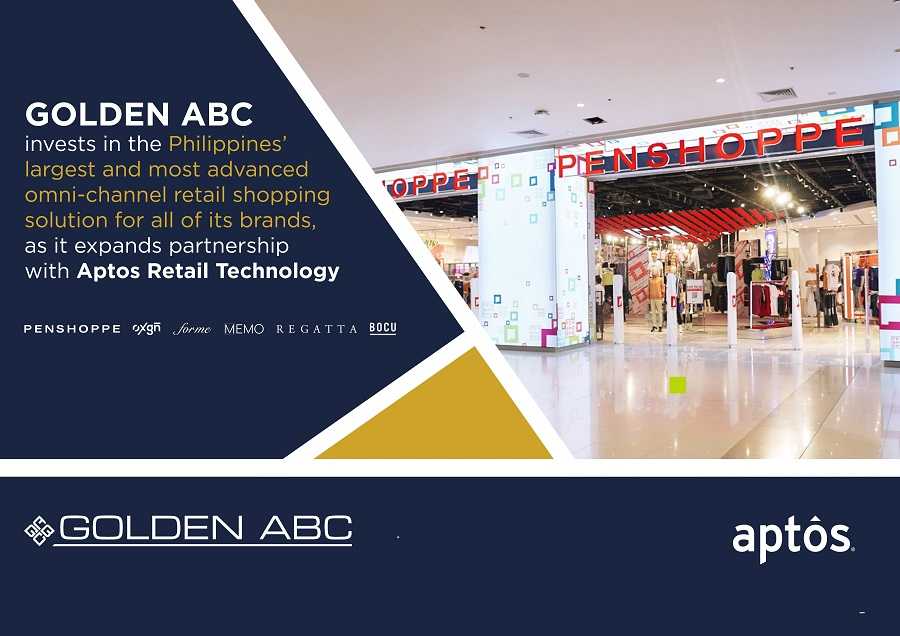 GOLDEN ABC invests in the Philippines' largest & most advanced omni-channel shopping experience with Aptos