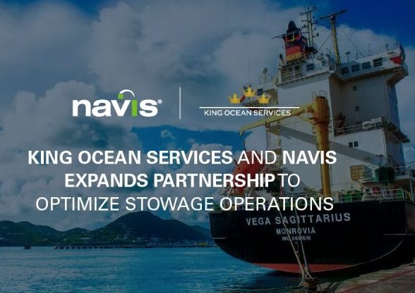 King Ocean Services & Navis Expands Partnership to Optimize Stowage Operations